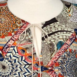 Rock & Roll Cowgirl | Empire Mini Boho Dress | S